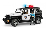 2526 - Bruder Jeep Wrangler Police Vehicle