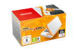 0045496504564 - Nintendo New 2DS XL - White & Orange