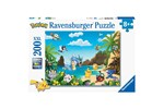 128402 - Ravensburger Pokemon Puzzle 200pcs. XXL