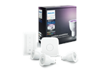 929000261761 - Philips Hue GU10 Color Starter Kit + Switch