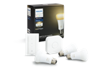 929001200161 - Philips Hue White Ambiance 3 Bulb + Switch Starter Kit