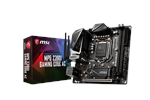 MPG Z390I GAMING EDGE AC - MSI MPG Z390I GAMING EDGE AC Emolevy - Intel Z390 - Intel LGA1151 socket - DDR4 RAM - Mini-ITX