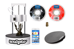 SCULPTO_BUNDLE - Sculpto + (including Powergrip Gear Buildplate Pro & 1kg Red Filament) - 3D Printterit -