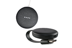 GA00216-NO+GA00439-NO - Google Home Mini - Charcoal (Nordic) incl. Chromecast 3