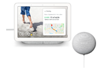 GA00516-NO+GA00638-NO - Google Nest Hub incl. Nest Mini - Chalk (Nordic)