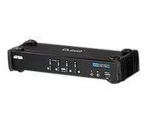 CS1764A - ATEN CubiQ CS1764A - KVM / audio-switch - 4 porte
