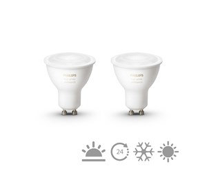 929001257603 - Philips Hue White Ambiance GU10 Bulb 2-pack