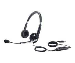 520-AAMC - Dell Pro Stereo Headset UC350 - musta
