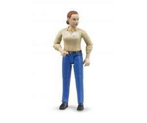 Bruder Woman in blue jeans