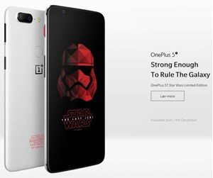 OnePlus5T-128-SW - OnePlus 5T 128GB/8GB - Star Wars Limited Edition