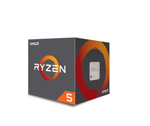 YD260XBCAFBOX - AMD Ryzen 5 2600X with Wraith Spire - Pinnacle Ridge CPU - 3.6 GHz - AMD AM4 - 6 ydintä - AMD Boxed (PIB - sis. jäähdyttimen)