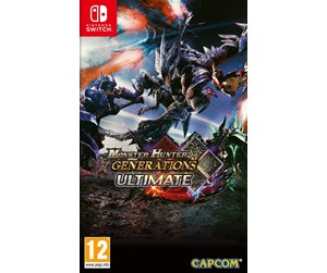 5055060948842 - Monster Hunter Generations Ultimate - Nintendo Switch - Seikkailu