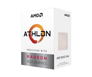 YD200GC6FBBOX - AMD Athlon 200GE CPU - 3.2 GHz - AMD AM4 - 2 ydintä - AMD Boxed (PIB - sis. jäähdyttimen)