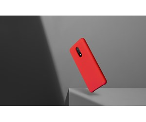 5431100066 - OnePlus 6T - Silicone Protective Case - Red