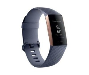 FB409RGGY-EU - Fitbit Charge 3 - rose gold/blue grey