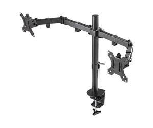 "GAM-040 - DELTACO GAMING Dual monitor desk mount 13""-32"""