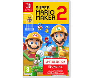 0045496425005 - Super Mario Maker 2 - Limited Edition - Nintendo Switch - Tasohyppely