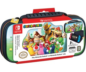 0663293111688 - Nintendo Game Traveler Deluxe Travel Case - Super Mario - laukku - Nintendo Switch