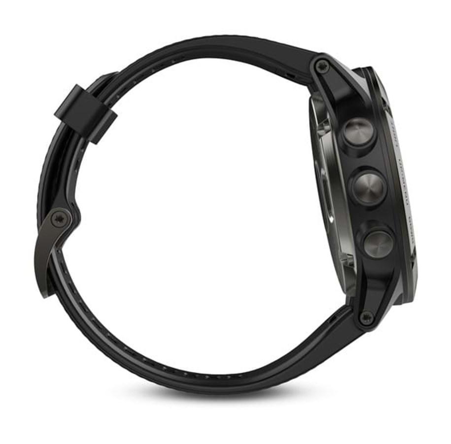 new style caf1a b3248 Garmin Fenix 5X Sapphire Slate Grey - Black Band   Varastossa