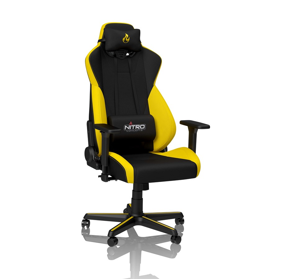 Nitro Concepts S300 Gaming Chair Astral Yellow Gamer Tuoli