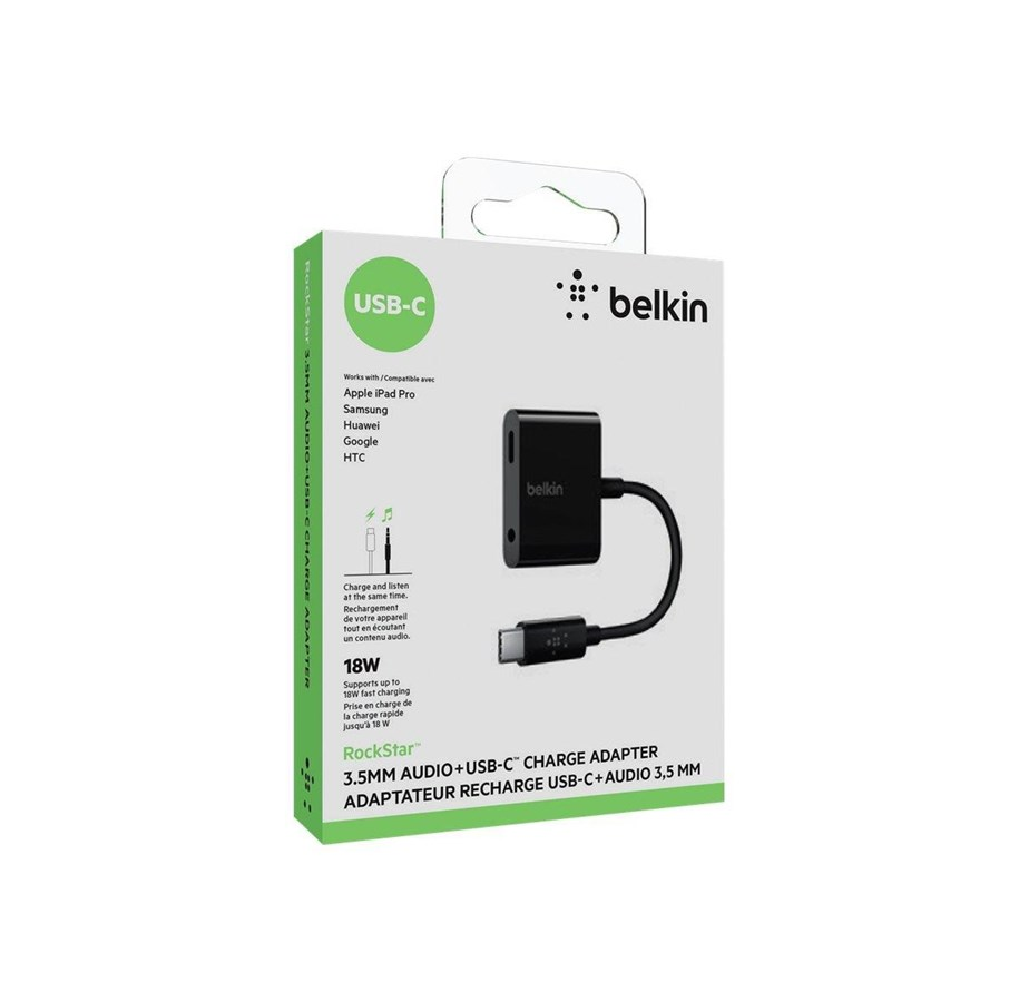Belkin Rockstar 3,5mm Audio + Charge adapteri Muut